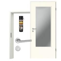 Innentür-Set Portalit LA-DIN A223 Zimmertür mit Zarge und Drücker Westag & Getalit