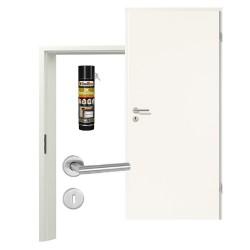 Innentür-Set Portalit lager A 242  Zimmertür mit Zarge und Drücker Westag & Getalit