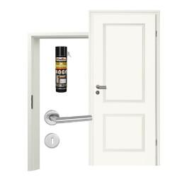 Innentür-Set Stiltuer Typ 4002  Zimmertür mit Zarge und Drücker Westag & Getalit