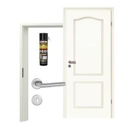 Innentür-Set Stiltuer Typ 4002 B Zimmertür mit Zarge und Drücker Westag & Getalit