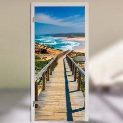 "Glastür 1128-1 ""Praia da Bordeira"""