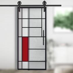 Glasschiebetür Loft corvara-f-905