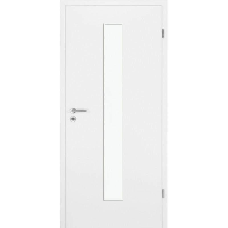 Garant Wohndesign: Weisslack 9010 LA Vario_mittig Innentür